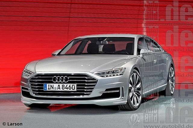 Новая Audi A8: революционный дизайн