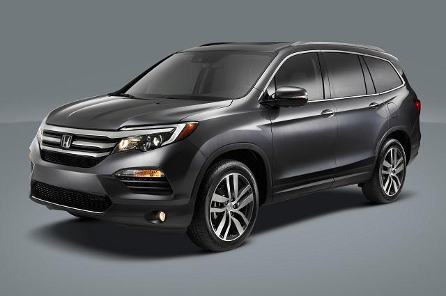 Honda назвала мощность нового Pilot