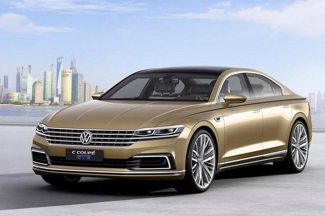 Volkswagen показал прототип нового гибридного седана
