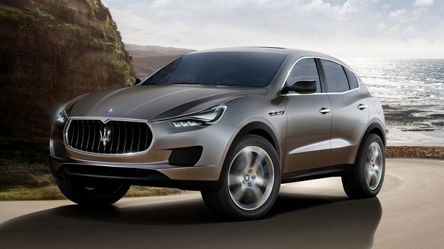 Кроссовер Maserati Levante представят через полгода