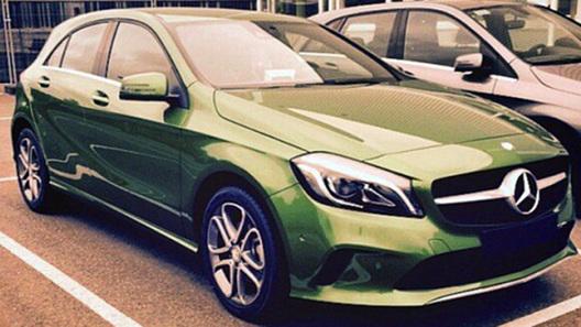Обновленный Mercedes-Benz A-Class без камуфляжа