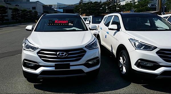 Обновленный Hyundai Santa Fe рассекречен до премьеры
