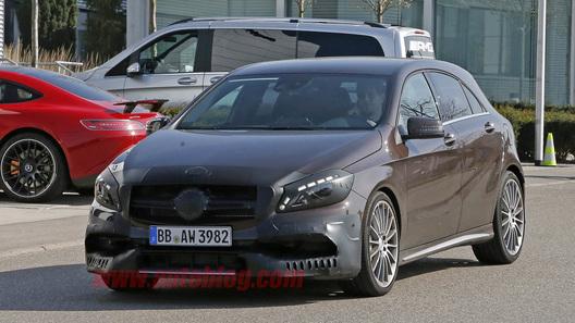 Mercedes намерен вернуть А-классу звание самого горячего хэтча