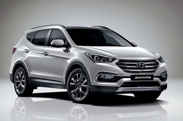 Hyundai представил рестайлинговый Santa Fe