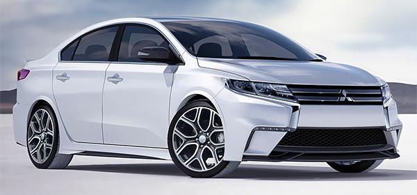 Mitsubishi начала работу над новым Lancer