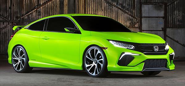 Honda Civic нового поколения представят осенью 2015 года