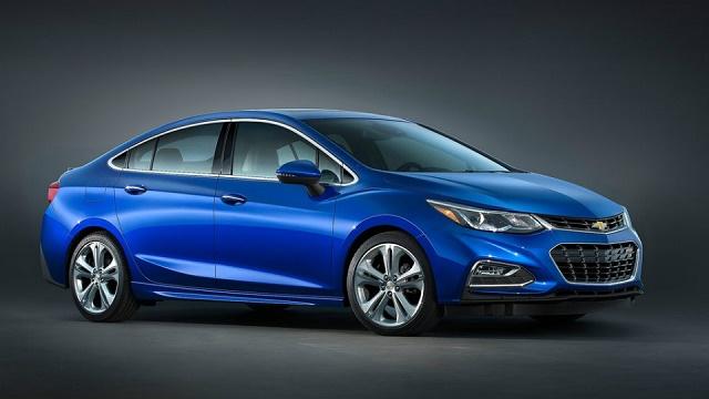 Chevrolet представил седан Cruze нового поколения