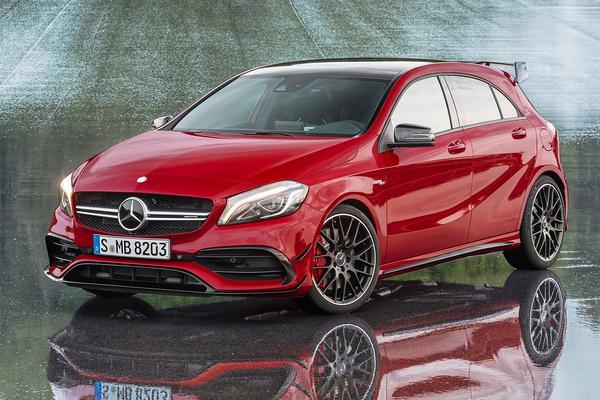 Mercedes представил самый быстрый хэтчбек в мире