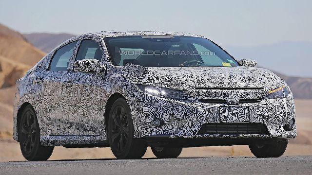 Новый седан Honda Civic получит светодиодные фары