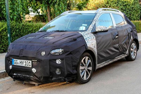 Hyundai начал тесты вседорожной версии i20 для Европы