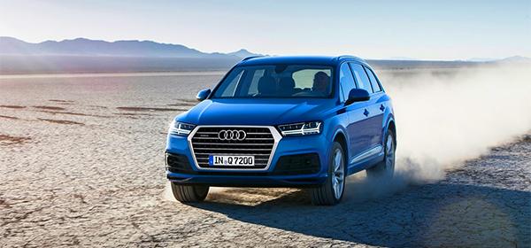Топовую версию новой Audi Q7 оснастятт 435-сильным турбомотором