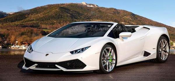 В сентябре 2015-го покажут Lamborghini Huracan Spyder
