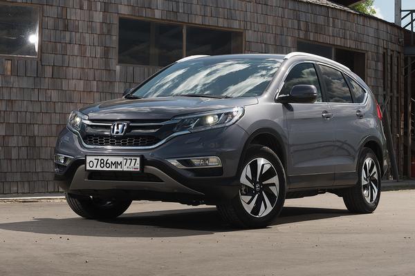 Новый мотор для обновленного Honda CR-V в России