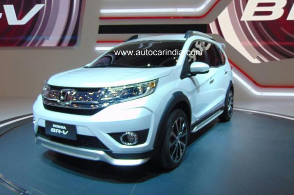 Honda представила новый 7-местный кроссовер BR-V