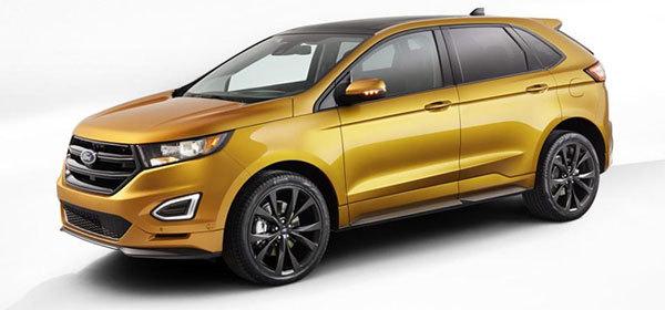 Во Франкфурте Ford покажет европейскую версию Edge