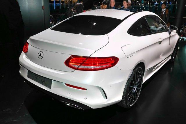 Во Франкфурте Mercedes представил новое купе C-Class