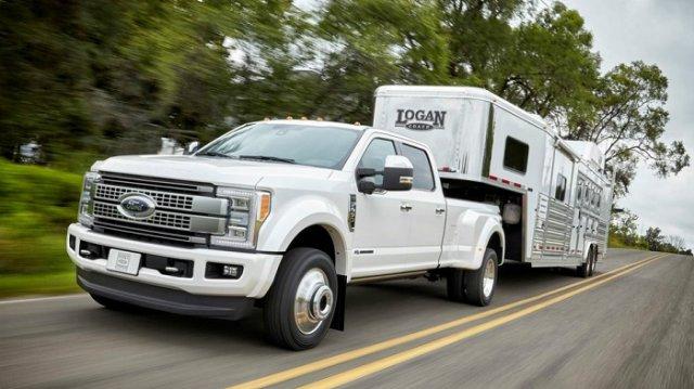 Флагманские пикапы Ford оснастили алюминиевым кузовом