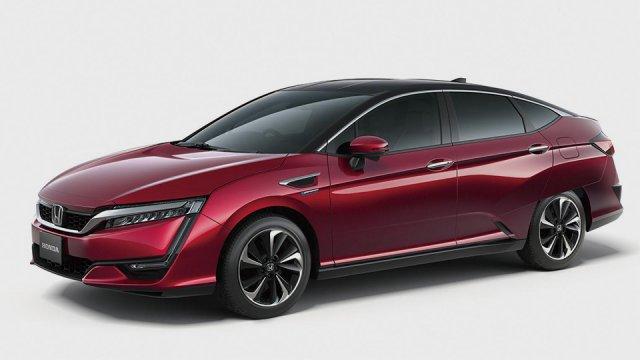 Honda представила дизайн новой водородной модели