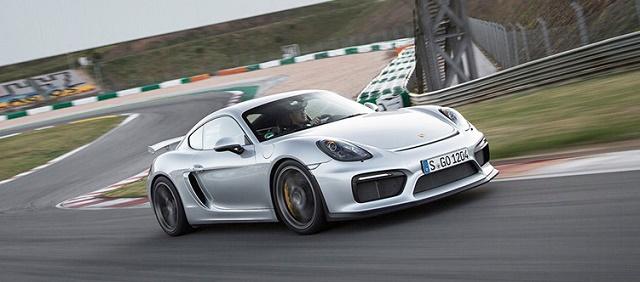 Porsche Cayman подготовят для гонок