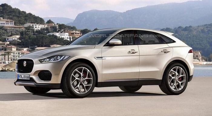 Jaguar начал разработку электрического кроссовера