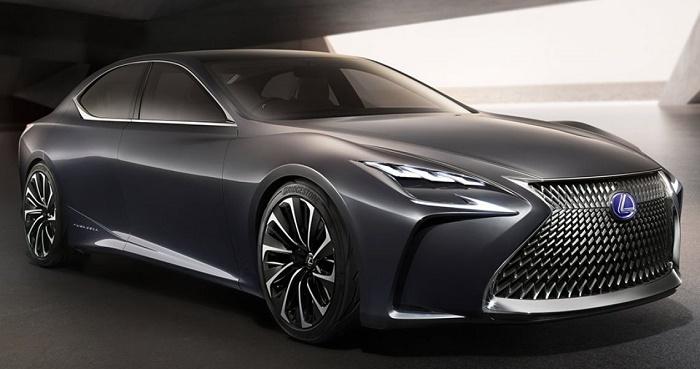 Рассекречен предвестник нового Lexus LS