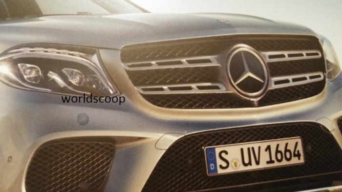 Появились фото преемника Mercedes-Benz GL