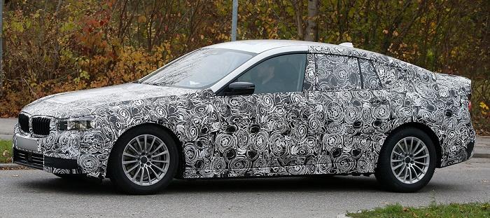 BMW вывела на тесты 5-Series GT
