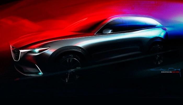 Mazda показала первое изображение нового CX-9