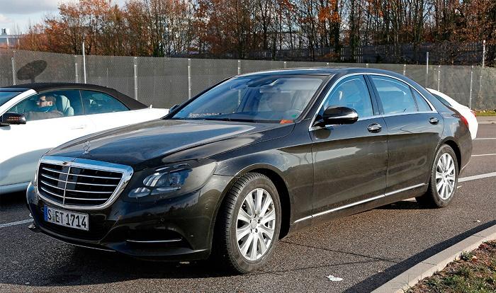 На тестах замечен обновленный Mercedes S-Class