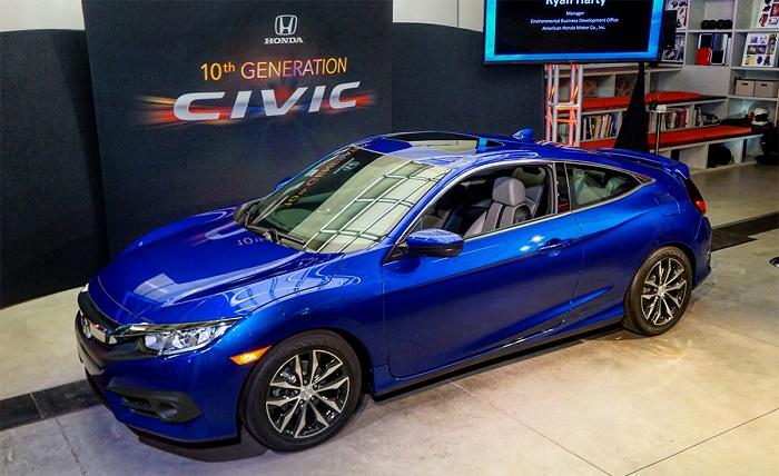 Купе Honda Civic нового поколения получило турбомотор