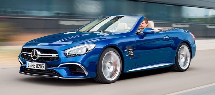 Обновленный Mercedes SL: раскрыты технические характеристики