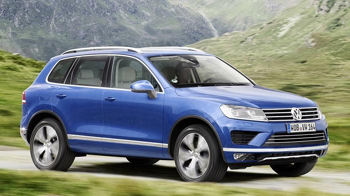 Volkswagen отзовет внедорожники Touareg в России