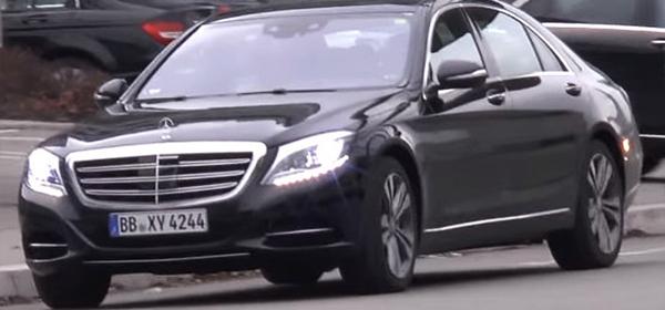Обновленный Mercedes S-Class без камуфляжа
