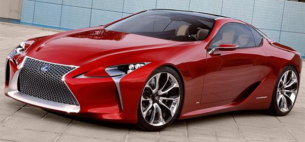 Lexus представит новый флагманский спорткар в Детройте