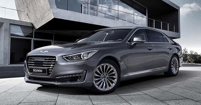 Корейцы представили первую модель бренда Genesis