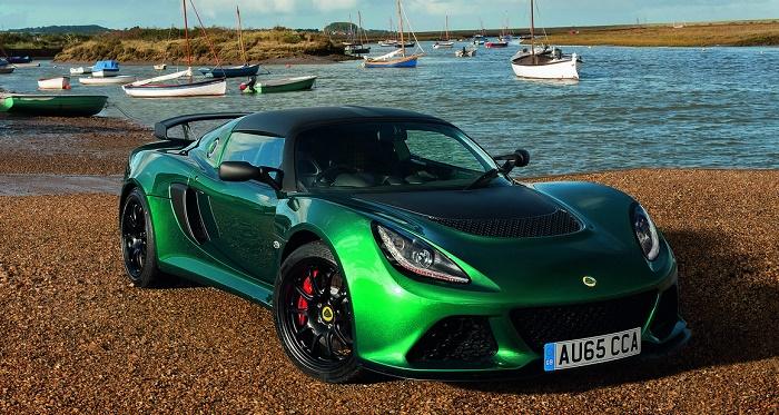 Lotus представила сверхлегкий спорткар Exige