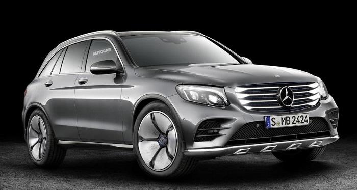 Mercedes покажет водородный кроссовер в 2017