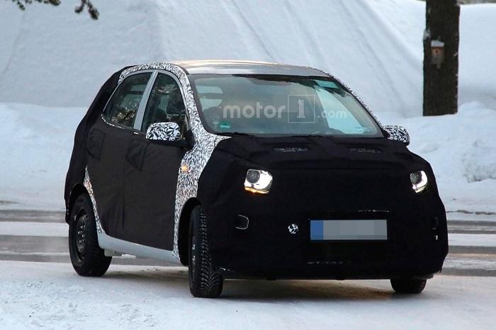 Kia приступила к тестам нового поколения Picanto