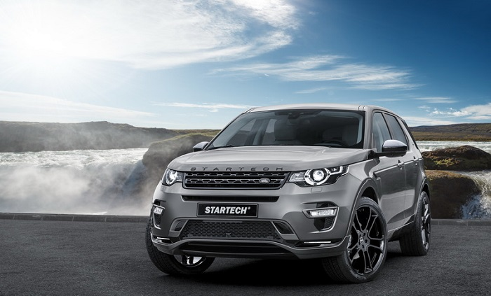 К Land Rover Discovery Sport прикоснулись тюнеры