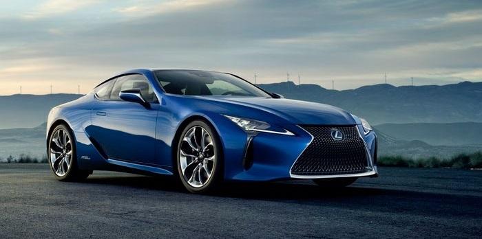 Lexus показал дизайн гибридного спортивного флагмана LC 500