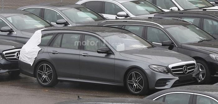 Универсал Mercedes E-Class рассекречен до премьеры