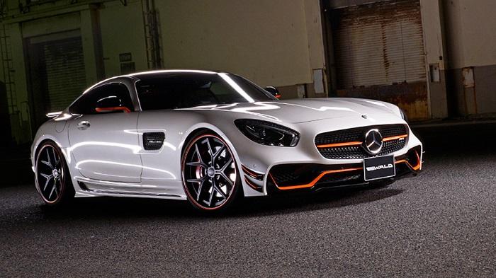 Mercedes-AMG GT с карбоновым тюнингом от ателье Wald