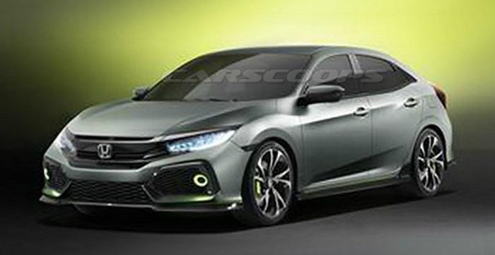 Honda Civic: Раскрыт дизайн прототипа для Европы