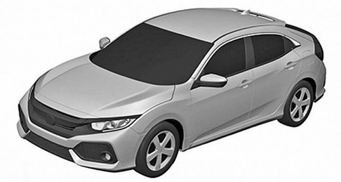 Honda Civic нового поколения: Внешность хэтчбека