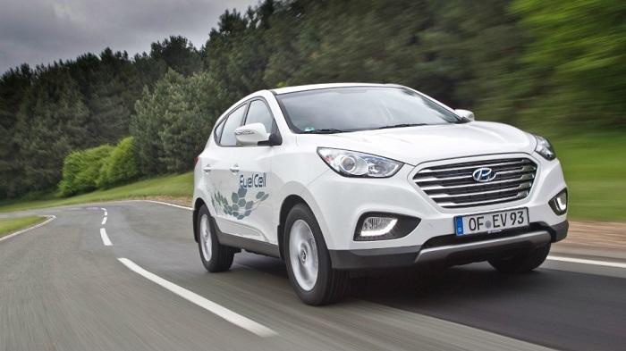 Hyundai покажет новый водородный кросс в 2017-м