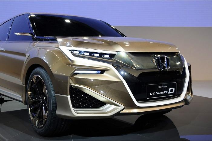 Honda UR-V: Новый кроссовер