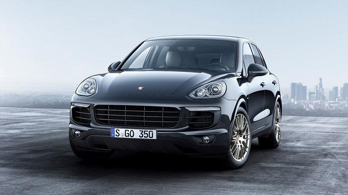 Porsche показала спецверсию Cayenne