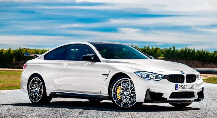 Мощность купе BMW M4 увеличена на 25 лошадиных сил