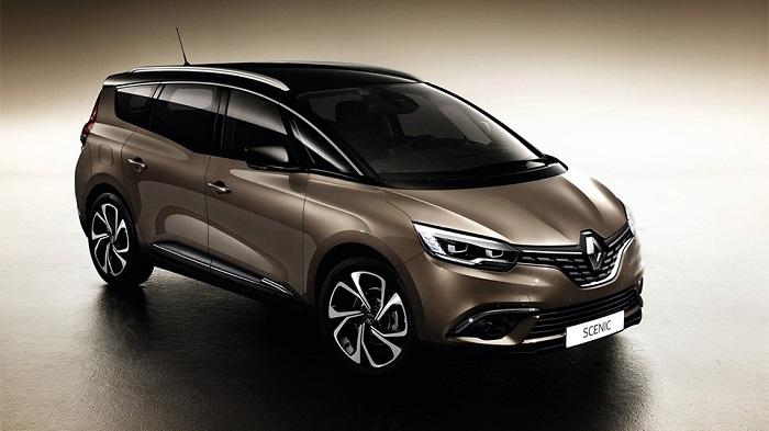 Renault Grand Scenic породнился с кроссовером Kadjar