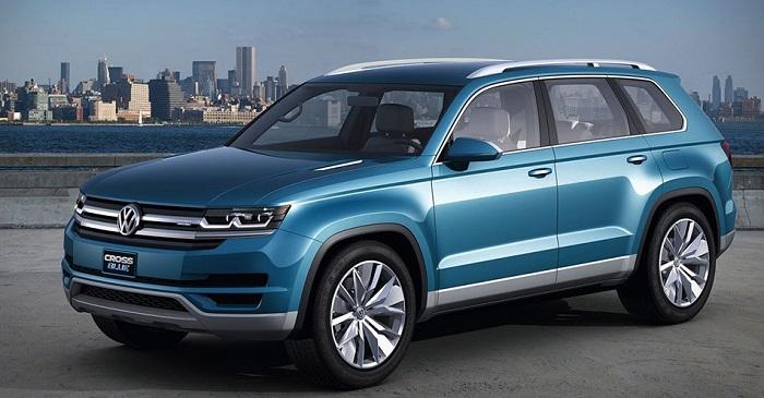 Volkswagen придумал название новому 7-местному кроссоверу